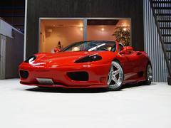 フェラーリ 360F1スパイダー フロントリフティング ハーマンエアロ