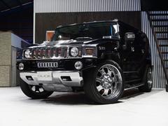 ハマー H2タイプG  ディーラー車 黒革 サンルーフ 1ナンバー