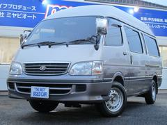 ハイエースワゴン4D グランドキャビンG−p 3.0DT 10人乗りナビTV