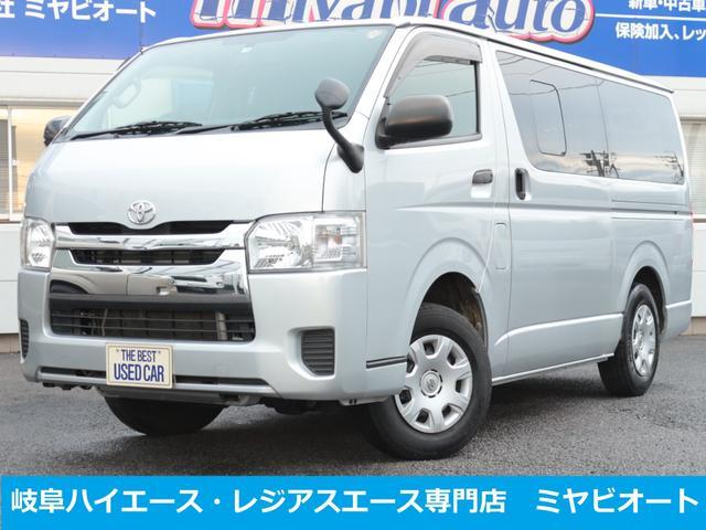 トヨタ ハイエースバン ロングDX 4WD 5Dr 4型ディーゼル ナビ TV