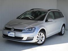 VW ゴルフヴァリアントTSIコンフォートラインブルーモーションテクノロジー ETC