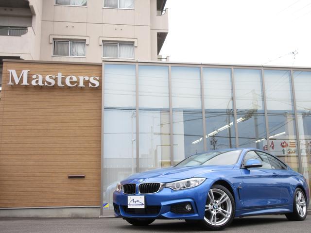 BMW 420iクーペ Mスポ ナビ フルセグTV インテリセーフ