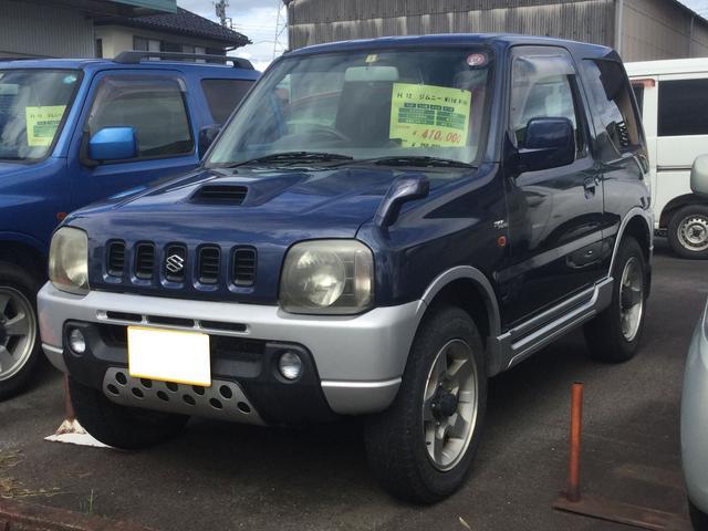スズキ ジムニー ワイルドウインド 4WD ターボ 背面タイヤ アルミ