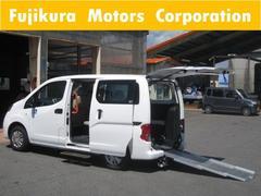 NV200バネットワゴンチャエアキャブ スローパー 車いす移動車 ナビ バックカメラ
