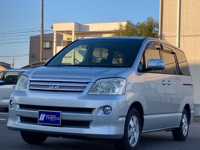 トヨタ ノア X Gセレクション 8人乗 社外SDナビTV バックカメラ ETC 両側電動スライドドア 純正AW ハーフシェイドガラス キーレスエントリー