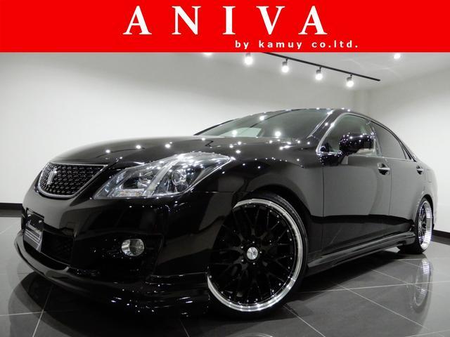 トヨタ 2.5アスリートナビパケLD新品20AW新品フルエアロ黒内装