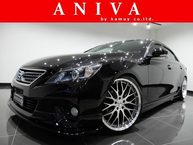 トヨタ 250G SパケリラHDD車高調20AWエアロ4リング黒内装