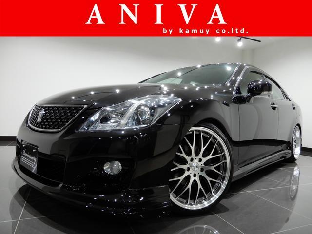 トヨタ 2.5アスリートナビパケ新品車高調新品20AW新品フルエアロ