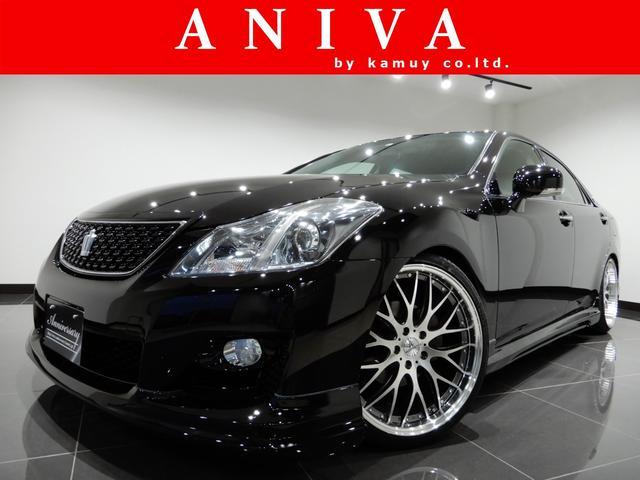 トヨタ 2.5アスリートナビPK新品車高調新品20AW新品フルエアロ