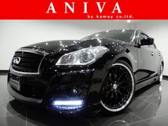 フーガ250GTタイプP黒革S新品車高調新品21AW新品フルエアロ