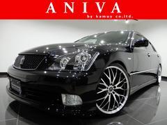 クラウンアスリート黒革新品車高調新品20AW新品フルエアロイカリング