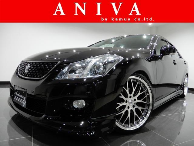 トヨタ 2.5アスリート HDD新品車高調新品20AW新品フルエアロ