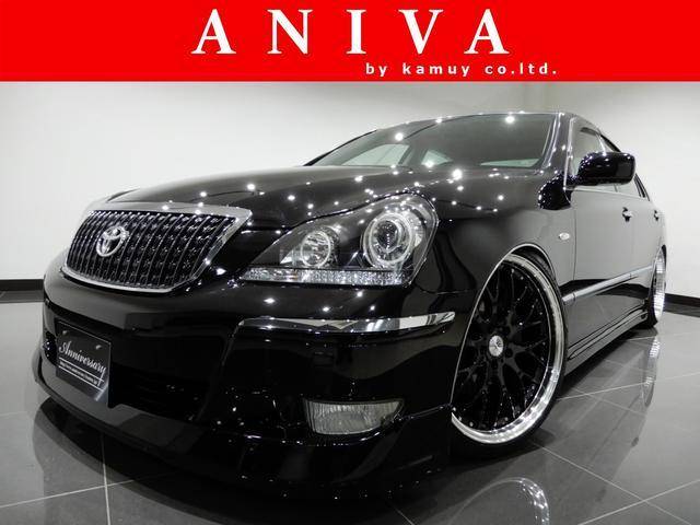 トヨタ C黒革HDD新品サスコン新品20AW新品フルエアロイカリング