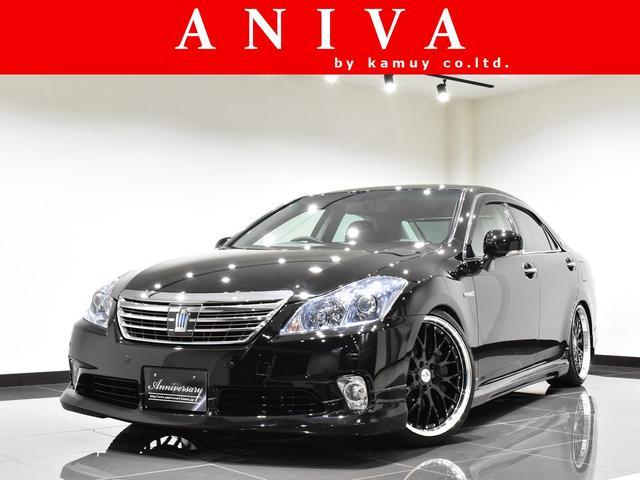 トヨタ Gパッケージ 黒革新品車高調新品20AW新品フルエアロ1オナ