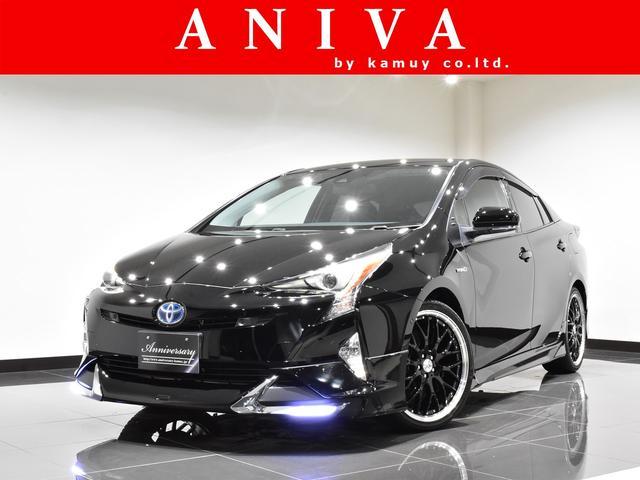 トヨタ Aツーリング 9inchナビ 黒革 新品19AW 新品エアロ