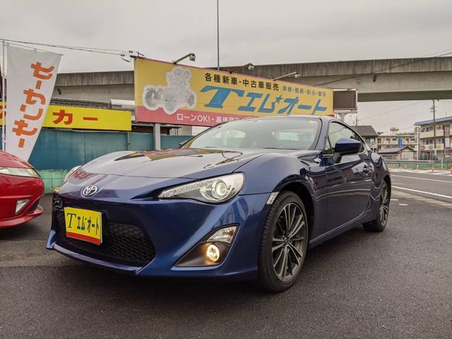 トヨタ GT 走行1.6万km 車検R.3年11月迄 SDナビ/TV/CD/DVD Bカメラ HID ETC 純正アルミ 純正フロアマット 禁煙車 軽微修復