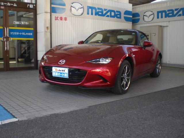 マツダ キャラメル・トップ SDナビ フルセグTV 禁煙車