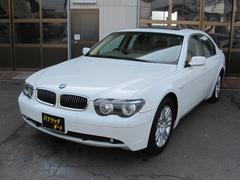 BMW745i サンルーフ 純正18インチアルミ 本革シート