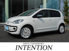 VW アップ!ホワイト アップ!1オーナー 限定車 専用シート&16AW