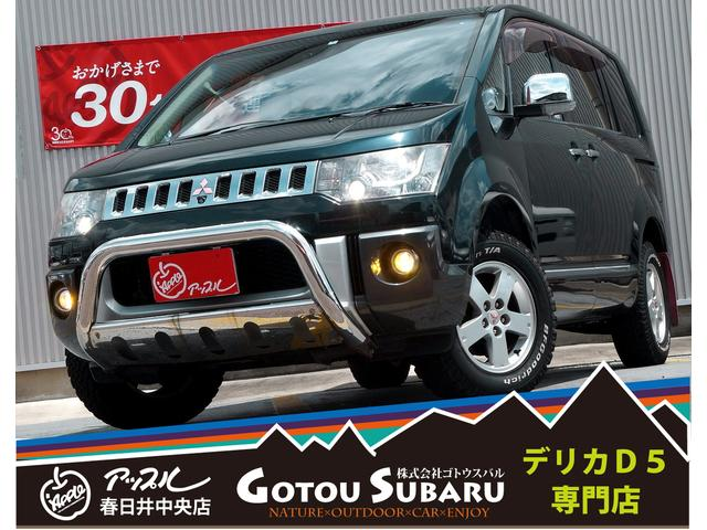 三菱 Gプレミアム4WD/7人乗/両側電動/ナビTV/グッドリッチ