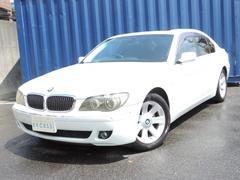 BMW740i ブラックレザーシート サンルーフ HDDナビ