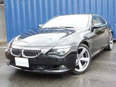 BMW650i レッドレザー HDDナビ フルセグ サンルーフ