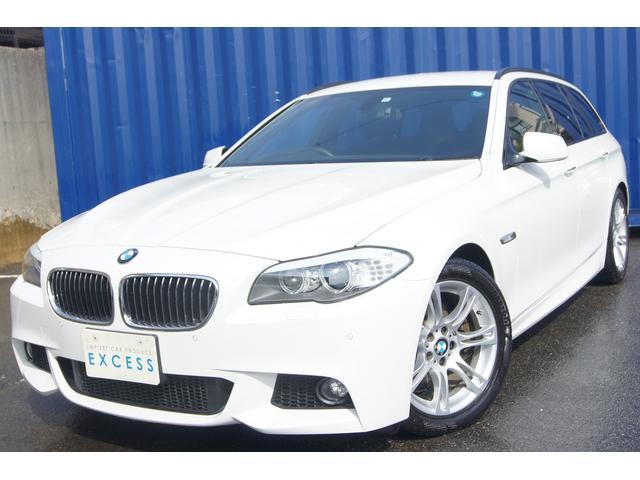 BMW 528iツーリング Mスポーツパッケージ HDDナビ レザー