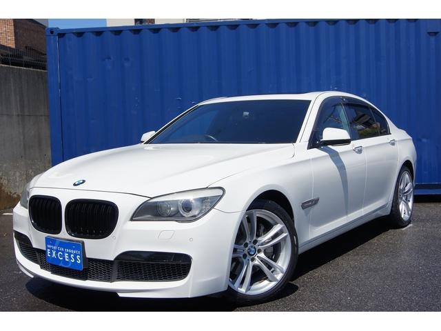 BMW 740i Mスポーツ HDDナビ サンルーフ ブラックレザー