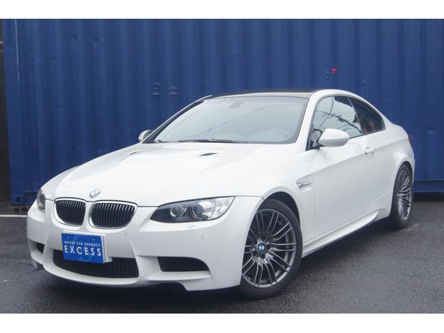 BMW M3 M3クーペ 左ハンドル 6MT 純正HDDナビ カーボンルーフ レッドレザーシート シートヒーター パワーシート HID ETC