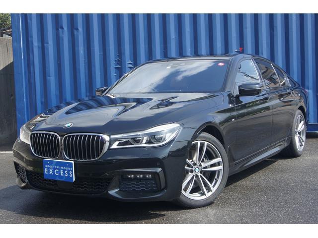 BMW 740i Mスポーツ 純正HDDナビ・地デジ・ハーマンカードン・360度カメラ・サンルーフ・ブラウンレザーシート・コンフォートアクセス・インテリジェントセーフティ・パワートランク・LEDヘッドライト・ETC