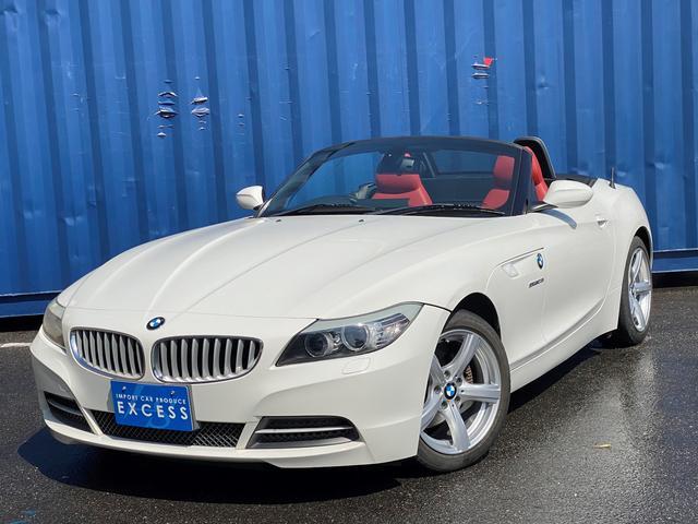 BMW sDrive23i ハイラインパッケージ 電動オープン・純正ナビ・フルセグ・レッドレザーシート・シートヒーター・パワーシート・パドルシフト・HID・ETC・キーレス
