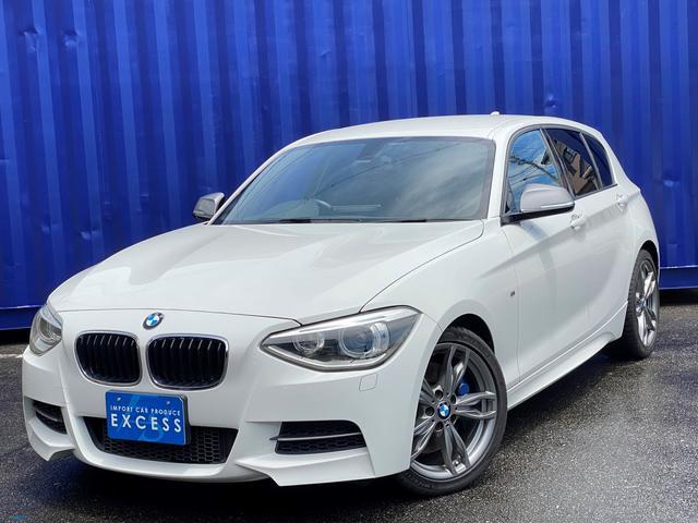 BMW M135i 直6ターボ・純正ナビ・地デジ・Bカメラ・パドルシフト・HID・ETC・コンフォートアクセス・パワーシート