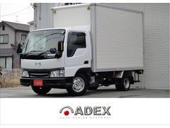 タイタンダッシュDX 1.35tアルミバンAT低床ガソリンBモニターWタイヤ