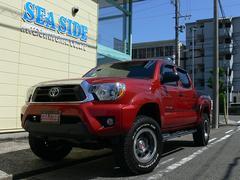 タコマダブルキャブ TX BAJA 4WD 新車並行車 1オーナー