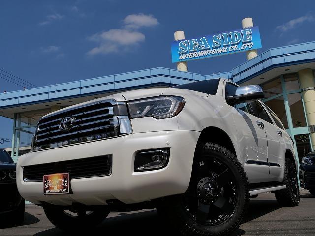 セコイア プラチナム 4WD 新車 KMCロックスター 20Inch AW LEDライト TSS