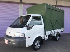 バネットトラックスーパーローDX 幌付 4WD 5MT 1t ディーゼル