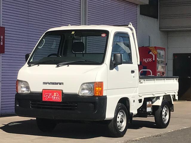 スバル TB 軽トラック 5速マニュアル 4WD エアコン ラジオ