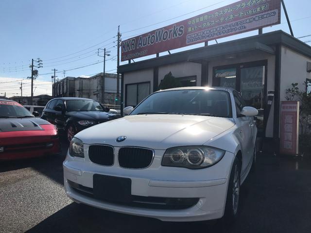 BMW 116i 後期型 車検令和4年1月 ナビ ETC