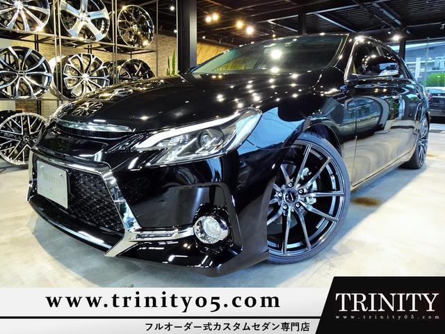 トヨタ マークX 250G フルG's仕様 新品ファイバースモール&シーケンシャルウィンカー仕様ヘッドライト&テールライト 新品20インチホイール&タイヤ