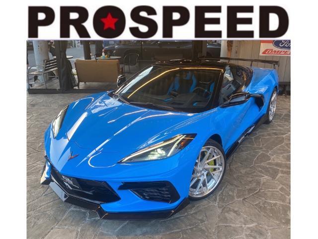 コルベット(シボレー)グランスポーツ 3LT ROHANA F20 R21インチ鍛造3ピースホイール Z51pkg フロントリフト マグネティックライドコントロール カーボンルーフ&クリアルーフ インテリアカーボンPKGエンジンアピアランスPKG 中古車画像