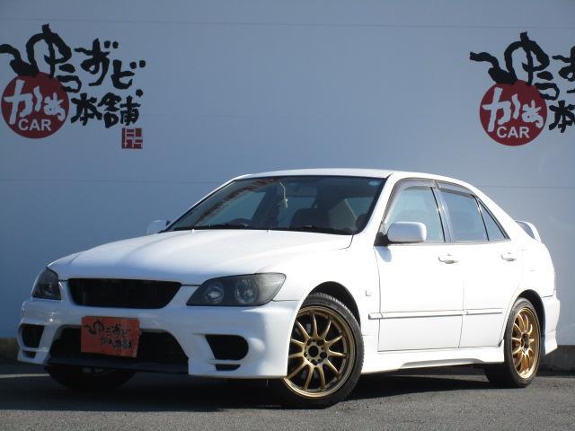 トヨタ RS200Zエディ フルエアロ 社外17AW 社外DVDナビ