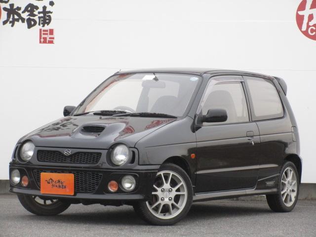 スズキ RS/Z 5MTターボ 社外マフラー スズキスポーツサス