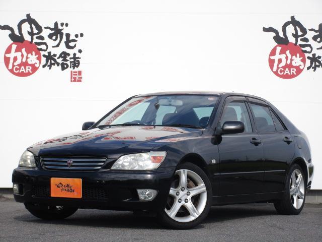 トヨタ RS200 Zエディ 革巻ステア 純正17アルミ ETC