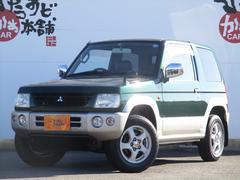 パジェロミニX 5速マニュアル 純正15AW 背面タイヤ キーレス