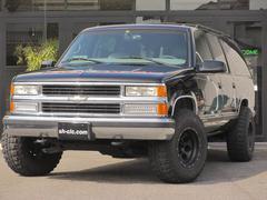 シボレー サバーバンLT ナビ 4WD レザーシート 16AW ベンチシート