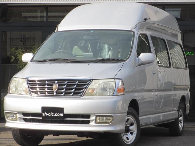 トヨタ キャンピングカー 4WD ベッド サブバッテリー FFヒータ