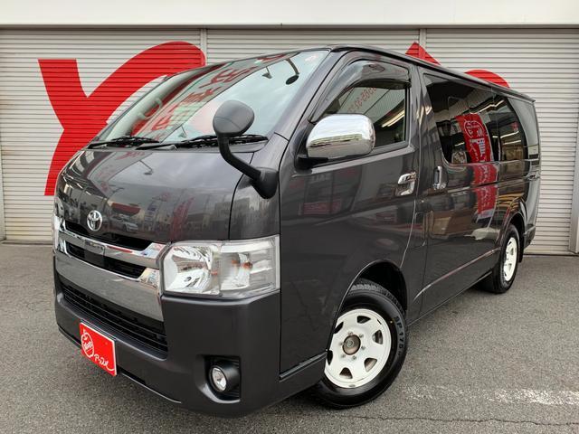 トヨタ スーパーGL ワンオーナー 禁煙車 Wエアバック AC100V トヨタセーフティセンス 修復歴無 ディーゼル