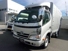 ダイナトラック4WDディーゼルターボ 垂直パワーゲート 幌付 ナビTV付