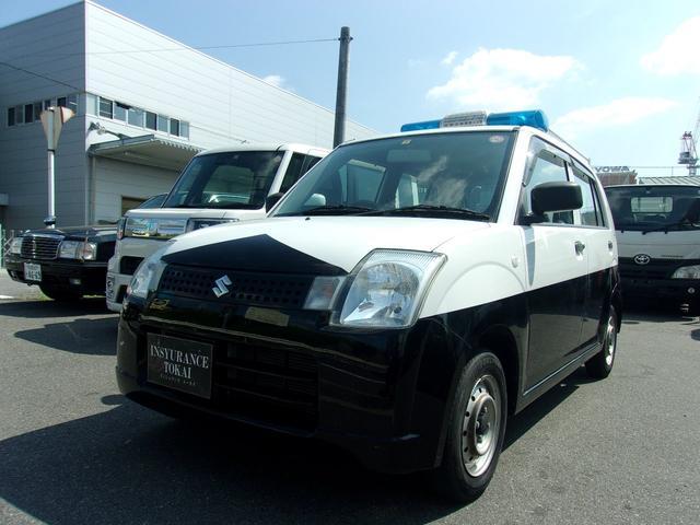 スズキ パトロールカー 警備車 回転灯 走行39000キロ