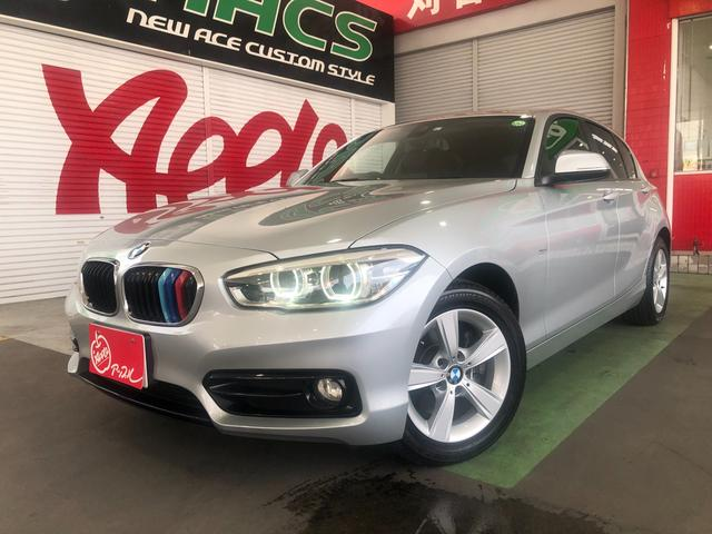 BMW 1シリーズ 118i スポーツ 純正HDDナビ 地デジTV Bカメラ ETC LEDヘッド 禁煙車 ユーザー買取車